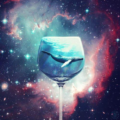 Звичайнісінький стаканний кит в космосі