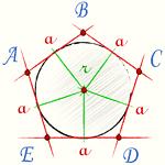 Площа правильного багатокутника, формула
