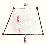 (a - підстава паралелограма; h - висота паралелограма)